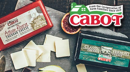 Cabot Cheese, Delivered Nationwide